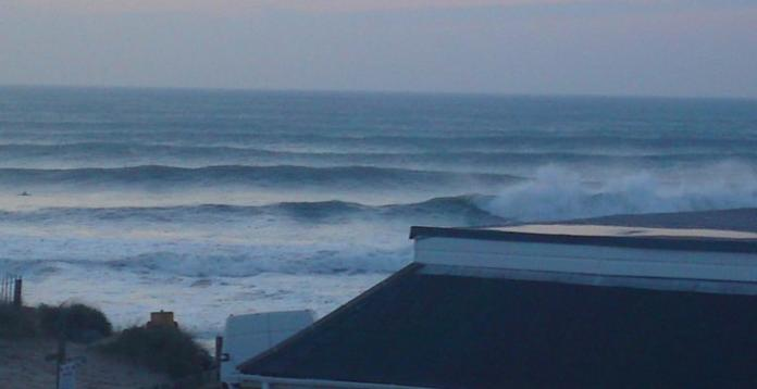 Big Surf set rollin in at Porthtowan. Facebook Image1
