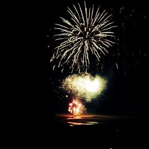 Porthtowan fireworks display